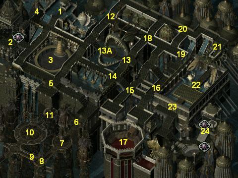 Baldur S Gate 2 Online Walkthrough The City Of Caverns