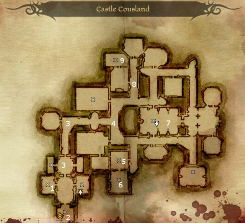 How to get chest key in dragon age origins Dragon Age Origin Map on