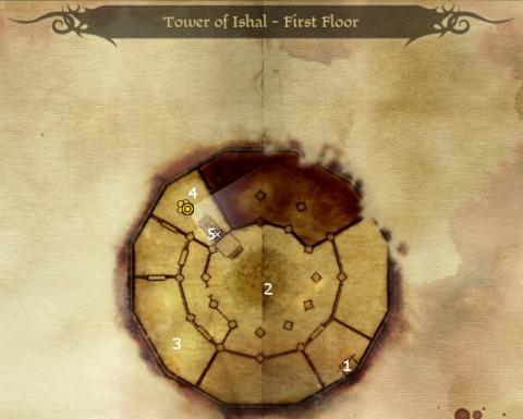 Dragon Age Origins Online Walkthrough Tower Ishal First Floor Sorcerer Place