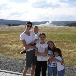 My sister Becky, and her children: Mason, McKenna, Emma, and Grace.