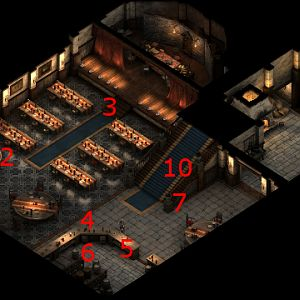 Charred Barrel Main Floor Map