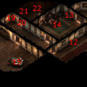 Reymont Manor Upper Floor Map