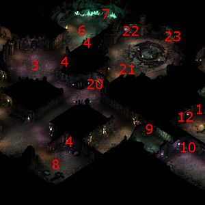 Pillars of Eternity - Endless Paths, Level 13 Map